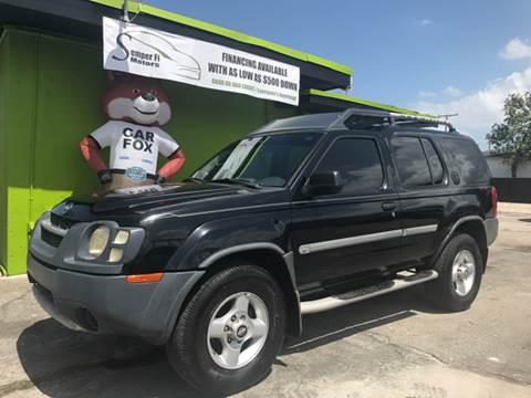 2002 Nissan Xterra for sale at Semper Fi  Motors in Miami FL