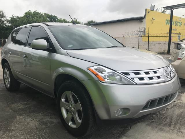 2005 Nissan Murano for sale at Semper Fi  Motors in Miami FL