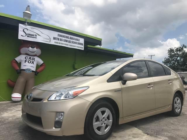2010 Toyota Prius for sale at Semper Fi  Motors in Miami FL
