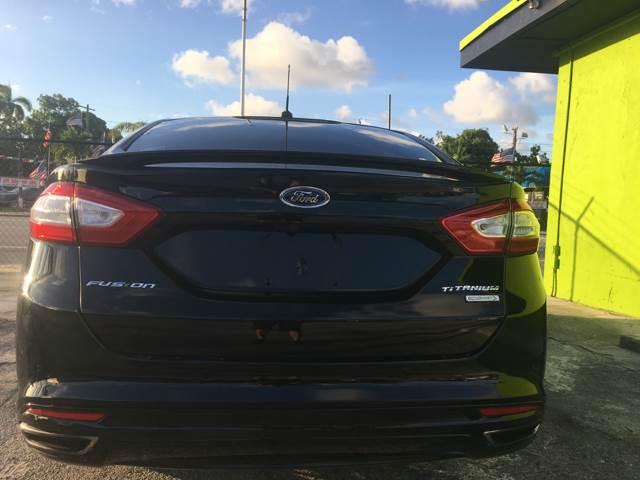 2016 Ford Fusion for sale at Semper Fi  Motors in Miami FL