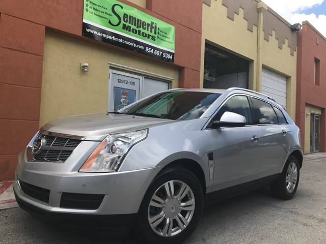 2011 CADILLAC SRX LUXURY COLLECTION 4DR SUV silver 2-stage unlocking doors abs - 4-wheel adjust