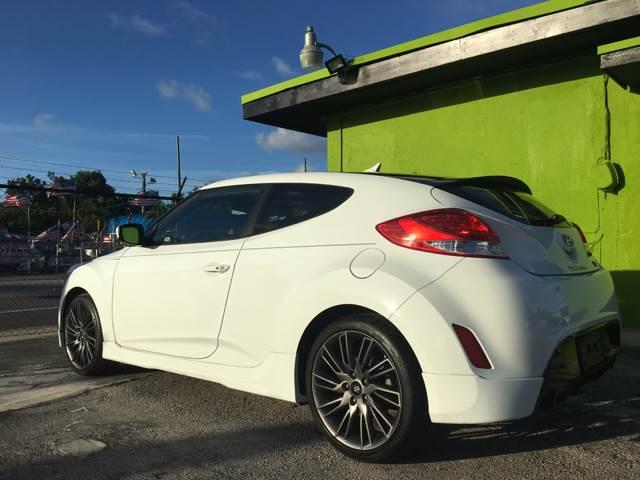 2013 Hyundai Veloster for sale at Semper Fi  Motors in Miami FL