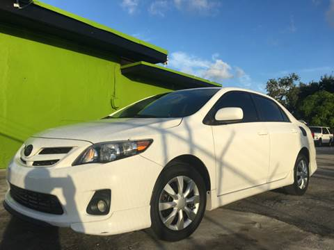 Toyota corolla for sale for Semper fi motors miami