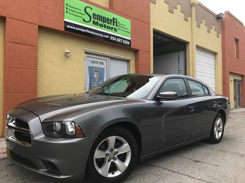 2012 Dodge Charger for sale at Semper Fi  Motors in Miami FL