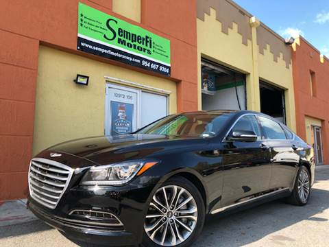 Hyundai genesis for sale in miami fl for Semper fi motors miami