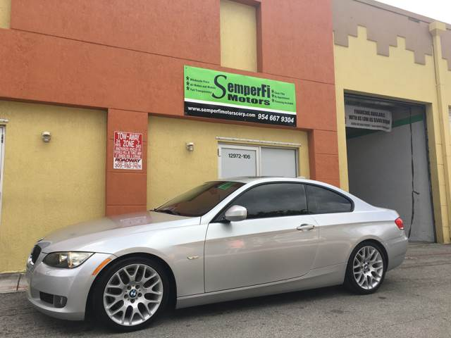 2010 BMW 3 Series for sale at Semper Fi  Motors in Miami FL