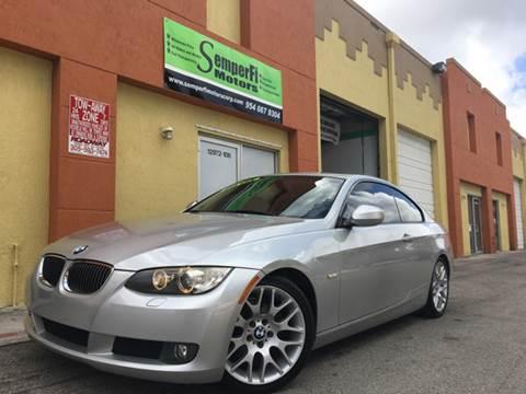2010 BMW 3 Series for sale at Semper Fi  Motors in Miami FL