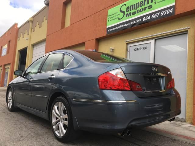 2008 Infiniti M45 for sale at Semper Fi  Motors in Miami FL