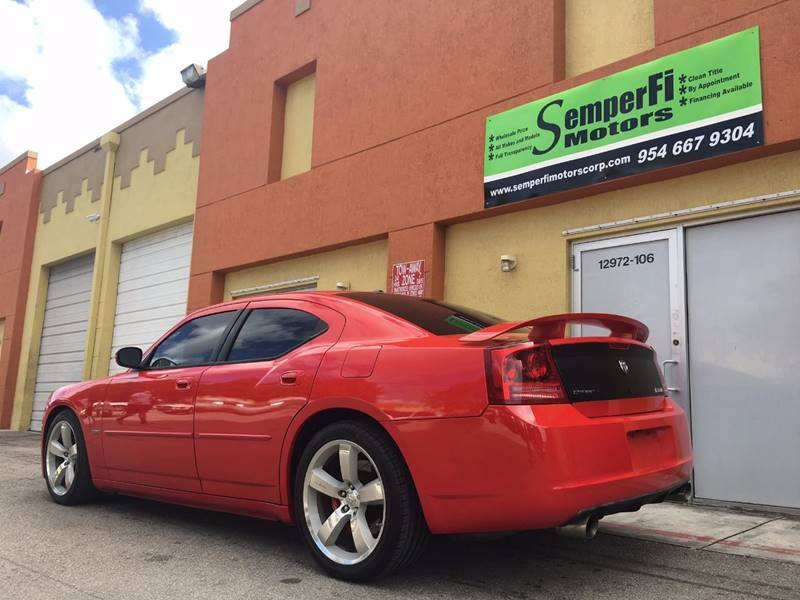 2007 Dodge Charger for sale at Semper Fi  Motors in Miami FL