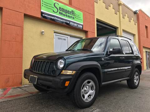 2005 Jeep Liberty for sale at Semper Fi  Motors in Miami FL