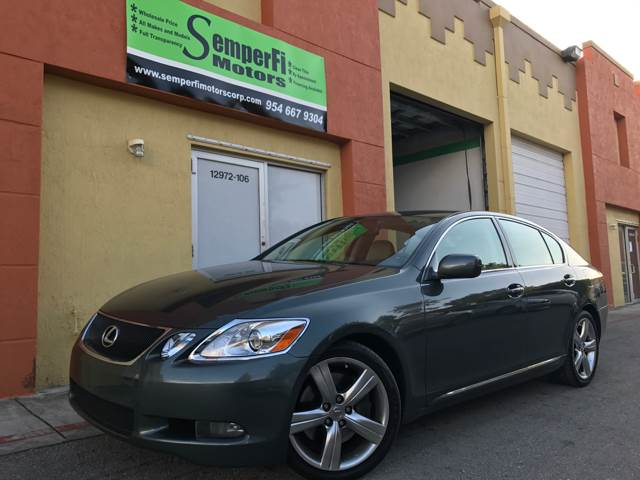 2007 LEXUS GS 350 BASE 4DR SEDAN green 2-stage unlocking doors abs - 4-wheel air filtration - a