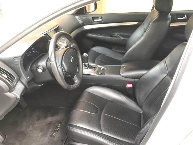 2011 Infiniti G25 Sedan for sale at Semper Fi  Motors in Miami FL