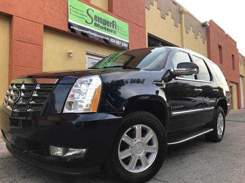 2007 Cadillac Escalade for sale in Miami, FL