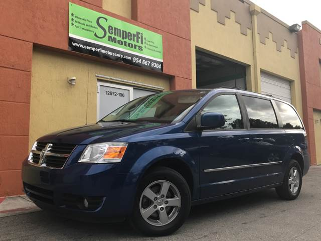 2010 DODGE GRAND CARAVAN SXT 4DR MINI VAN blue 2-stage unlocking doors abs - 4-wheel active hea