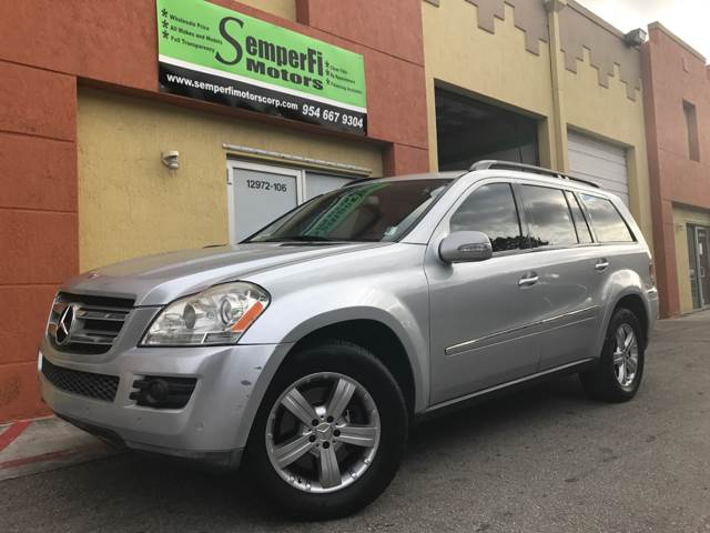 2008 MERCEDES-BENZ GL-CLASS GL 450 4MATIC AWD 4DR SUV silver 2-stage unlocking doors 3rd row moon