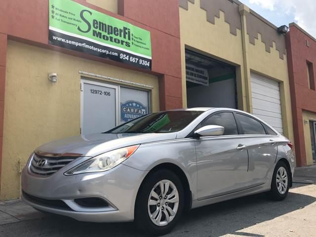 2011 Hyundai Sonata for sale at Semper Fi  Motors in Miami FL