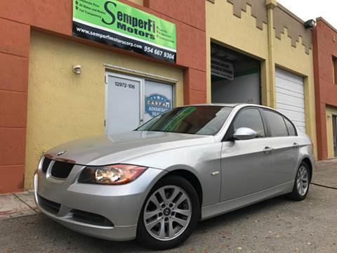 2007 BMW 3 Series for sale at Semper Fi  Motors in Miami FL