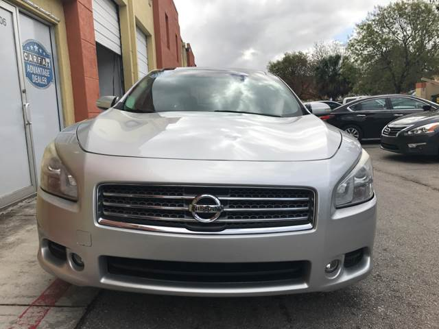 2009 Nissan Maxima for sale at Semper Fi  Motors in Miami FL