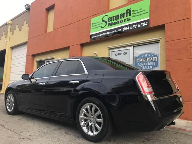 2012 Chrysler 300 for sale at Semper Fi  Motors in Miami FL