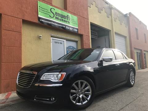 2012 Chrysler 300 for sale at Semper Fi  Motors in Miami FL