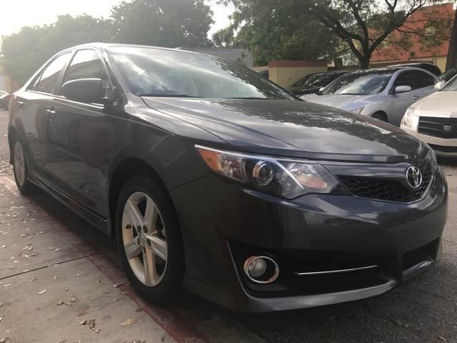2014 Toyota Camry for sale at Semper Fi  Motors in Miami FL