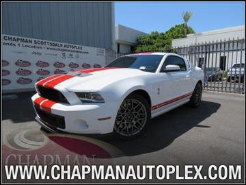 2013 Ford Shelby GT500 for sale in Scottsdale, AZ
