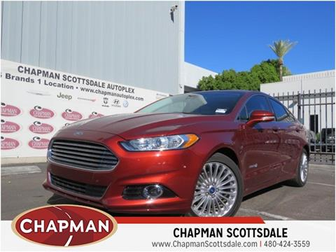 2014 Ford Fusion Hybrid for sale in Scottsdale, AZ