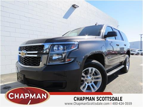 2017 Chevrolet Tahoe for sale in Scottsdale, AZ
