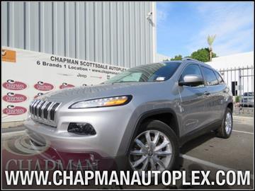2016 Jeep Cherokee for sale in Scottsdale, AZ