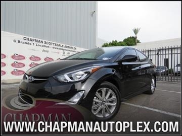 2016 Hyundai Elantra for sale in Scottsdale, AZ