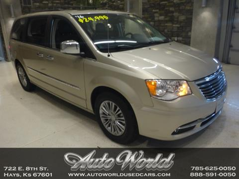 2016 Chrysler Town and Country for sale in Hays, KS