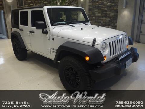 2011 Jeep Wrangler Unlimited for sale in Hays, KS