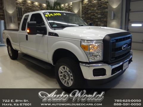 Used F 250 Super Duty For Sale >> 2015 Ford F 250 Super Duty For Sale In Hays Ks