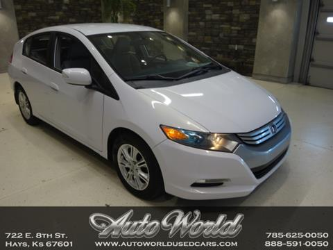 2010 Honda Insight for sale in Hays, KS