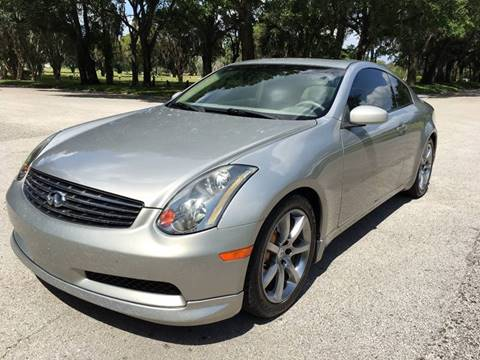 2004 Infiniti G35 for sale at ROADHOUSE AUTO SALES INC. in Tampa FL