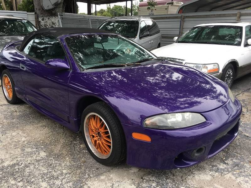 for eclipse in veh gs sale spyder tx mitsubishi convertible houston