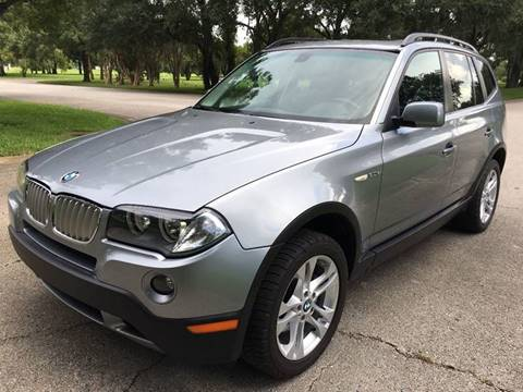 2007 BMW X3 for sale at ROADHOUSE AUTO SALES INC. in Tampa FL
