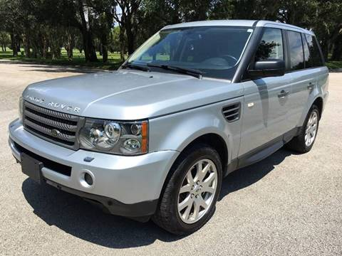 2009 Land Rover Range Rover Sport for sale at ROADHOUSE AUTO SALES INC. in Tampa FL