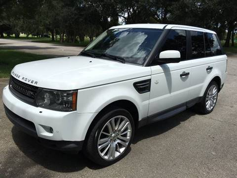 2011 Land Rover Range Rover Sport for sale at ROADHOUSE AUTO SALES INC. in Tampa FL