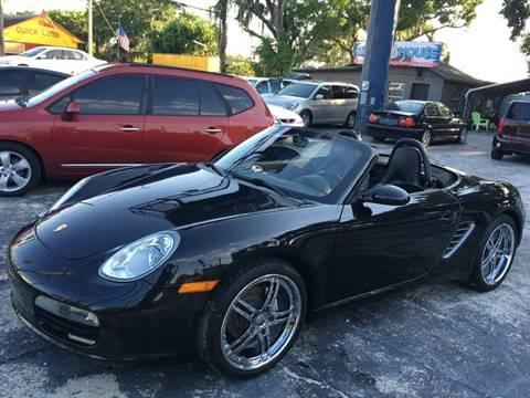 2005 Porsche Boxster for sale at ROADHOUSE AUTO SALES INC. in Tampa FL