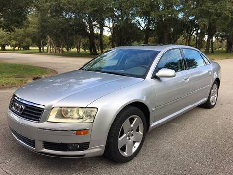 2005 Audi A8 L for sale at ROADHOUSE AUTO SALES INC. in Tampa FL