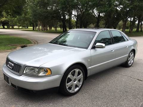 2002 Audi S8 for sale at ROADHOUSE AUTO SALES INC. in Tampa FL