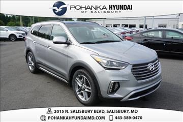 2017 Hyundai Santa Fe for sale in Salisbury, VA