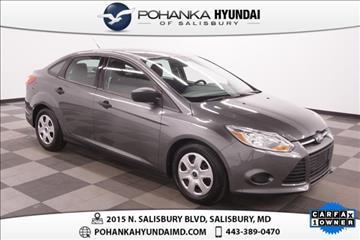 2012 Ford Focus for sale in Salisbury, VA