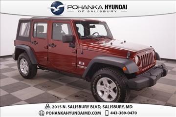 2007 Jeep Wrangler Unlimited for sale in Salisbury, VA