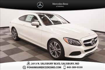 Mercedes benz c class for sale salisbury md for Pohanka mercedes benz of salisbury