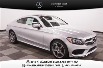 Mercedes Benz C Class For Sale Salisbury Md