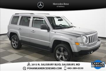 Used jeep patriot for sale maryland for Pohanka mercedes benz of salisbury