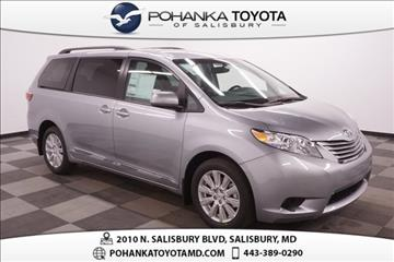 Toyota Sienna For Sale Maryland