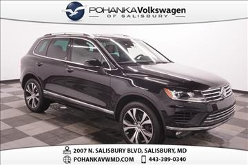 2017 Volkswagen Touareg for sale in Salisbury, MD